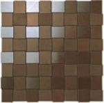 Atlas Concorde Marvel Wall Design Bronze Net Mosaic 3x3cm